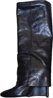 Neil Barrett Black Leather Boots