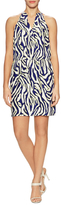 Alice & Trixie Rory Silk Printed Flared Dress