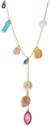 BP Stone Charm Y-Necklace