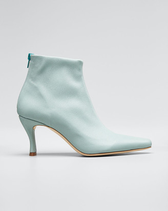 BY FAR Stevie Mint Stretch Booties