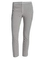 Theory Classic Crop Gingham Pants