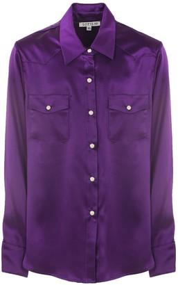 Lotte.99 Western Shirt Purple Silk