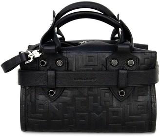Longchamp Small La Voyageuse Leather Top Handle Bag