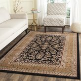 "Safavieh Lyndhurst Collection LNH331D Black and Tan Area Rug, 3 feet 3 inches by 5 feet 3 inches (3'3"" x 5'3"")"