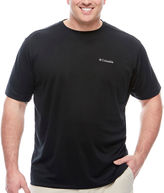 Columbia Co. Short Sleeve Crew Neck T-Shirt-Big and Tall