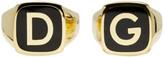 Dolce & Gabbana Gold 'DG' Ring Set