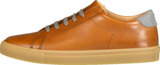 Eleventy Men's Leather Lace Up Sneaker