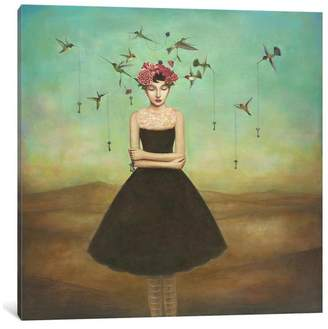 """iCanvas Fair Trade Frame of Mind Gallery"""" by Duy Huynh, 37x37x0.75"""""""