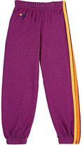 Aviator Nation Side-Striped Sweatpants-PINK