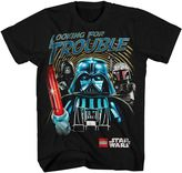 "Star Wars Lego looking for trouble"" tee - boys 4-7"