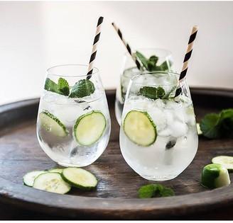 Maxwell & Williams Vino Set of 6 Stemless White Wine Glasses