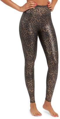 Spanx Shine Printed Leggings