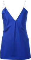 Haider Ackermann deep v-neck camisole top - women - Silk - 38