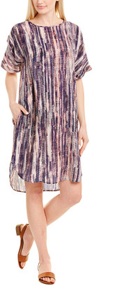 Nic+Zoe Silk-Blend Shift Dress