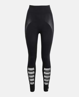 adidas by Stella McCartney Stella McCartney black warp knit tight