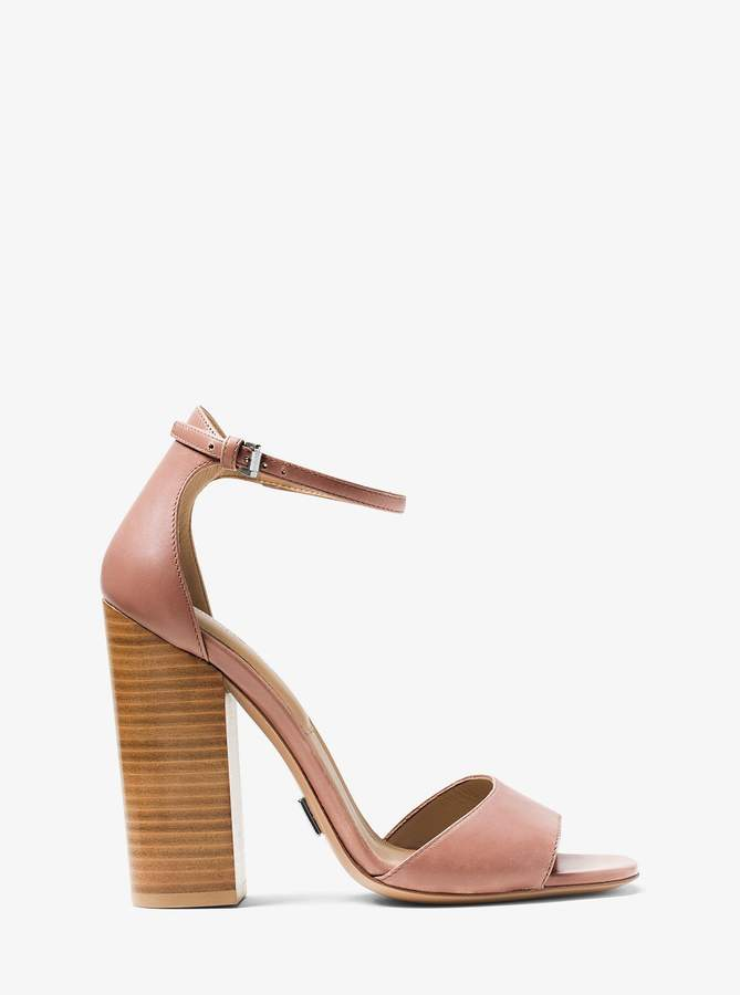 Michael Kors Rosa Leather Sandal