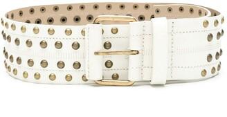 Nk Stud Leather Belt