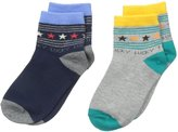 Jefferies Socks Big Boys' Lucky Star Quarter Socks