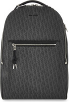 Christian Dior Darklight logo canvas backpack