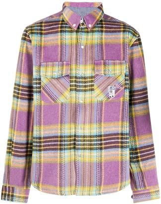 Billionaire Boys Club Check Button-Up Shirt