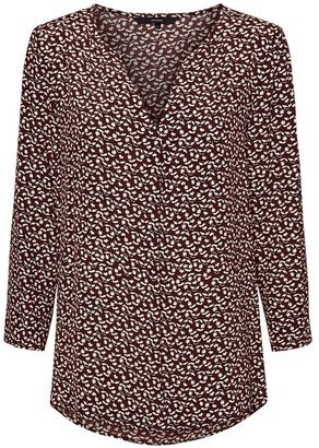 Vero Moda Floral Print Blouse with 3/4 Length Sleeves