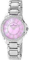 Anne Klein Women's 10-9661PMSV Classic Pink MOP Watch