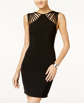 B. Darlin Juniors' Cage-Strap Bodycon Dress
