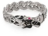 John Hardy Naga Black Sapphire & Sterling Silver Dragon Braided Bracelet