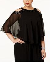 Alex Evenings Plus Size Embellished Blouse