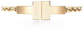 Tiffany & Co. T chain ring in 18k gold