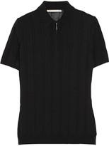 Jason Wu Ribbed-knit polo shirt