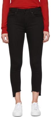 Rag & Bone Black Nina Ankle Skinny Jeans