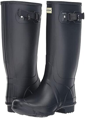 Hunter Huntress Field Boot (Navy) Women's Rain Boots