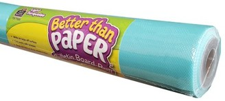 Teacher Created Resources Light Turquoise Better Than Paper Bulletin Board Roll, Pack of 4