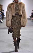 Michael Kors Arctic Marble Fox Fur Jacket