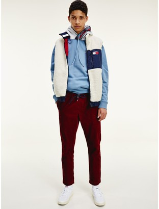 Reversible Colorblocked Sherpa Vest