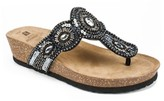 White Mountain Blast Wedge Sandal