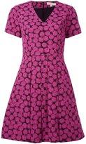 MICHAEL Michael Kors pleated printed dress