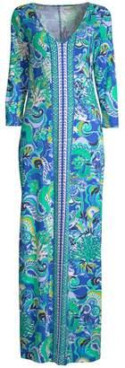 Lilly Pulitzer Anissa Printed Cotton Maxi Dress