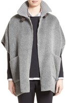 Fabiana Filippi Women's Textured Alpaca & Wool Cape