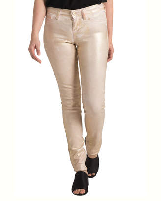 Standards & Practices Coated Stretch Twill Skinny Premium Jeans