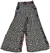 Free People Multicolour Viscose Trousers