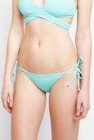 Becca Color Code Seaglass Tie Side Hipster Bikini Bottoms