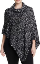 Eileen Fisher Plus Asymmetric Marled Organic Cotton Poncho - 100% Bloomingdale's Exclusive