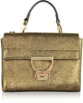 Coccinelle Arlettis Metallic Suede Mini Shoulder Bag