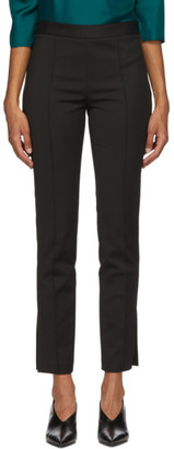 PARTOW Black Cotton Maurice Trousers