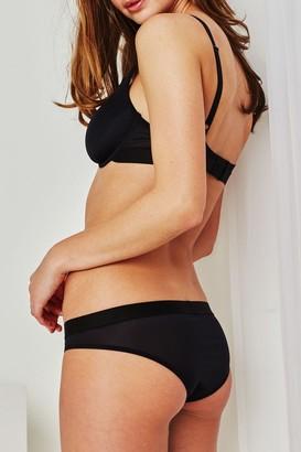 Negative Underwear Silky Brief in Black