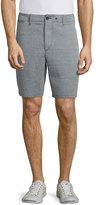 Rag & Bone Matthew Straight-Leg Shorts, Black