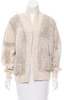 IRO Open Front Knit Cardigan