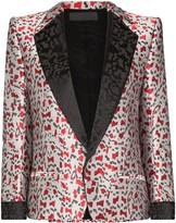 Haider Ackermann Abstract jacquard blazer